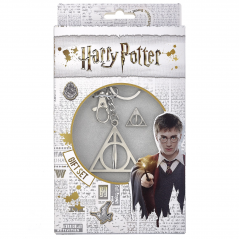 Set Harry Potter Breloc Triangle Deathly Hallows + Brosa Triangle Deathly Hallows ZUMGSK0054 Brelocuri