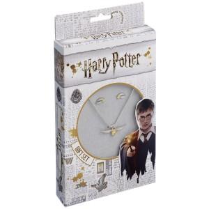 Set Harry Potter Colier Golden Snitch + Cercei Golden Snitch ZUMGSN0004 Medalioane