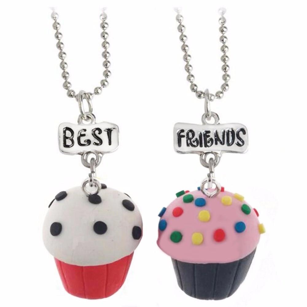 Set 2 Lantisoare Cu Pandantive Best Friends BFF Briose bff531 Best Friends Medalioane BFF