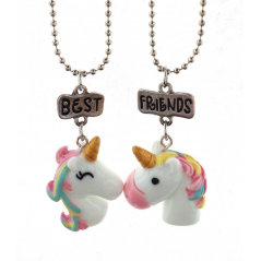 Set Lantisoare BFF BEST Friend Friends Unicorn m3 bff534 Best Friends