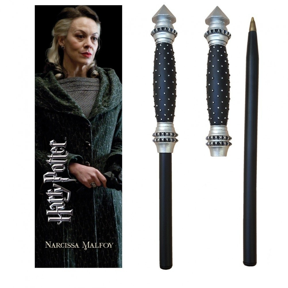 Pix Harry Potter - Narcissa Malfoy Bagheta magica + semn de carte NN7994 Harry potter Pixuri