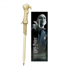 Pix Harry Potter - Lord Voldemort Bagheta magica + semn de carte NN8638 Fan Zone