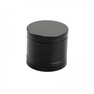 Grinder tutun metalic - 4 compartimente - negru zum662 Articole si accesorii tutun