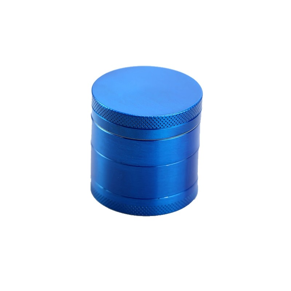 Grinder tutun metalic - 4 compartimente - Albastru zum663 Articole si accesorii tutun