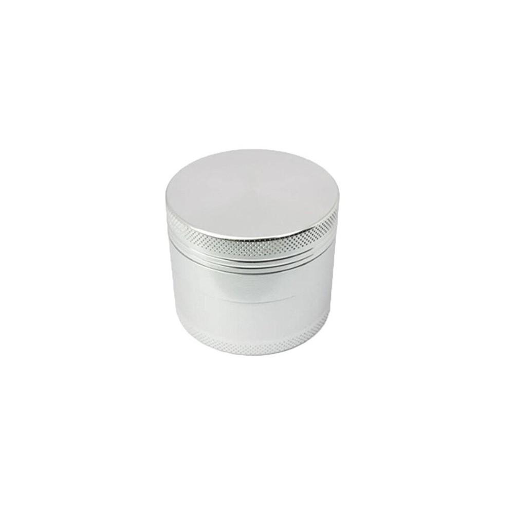 Grinder tutun metalic - 4 compartimente - Silver zum664 Grindere