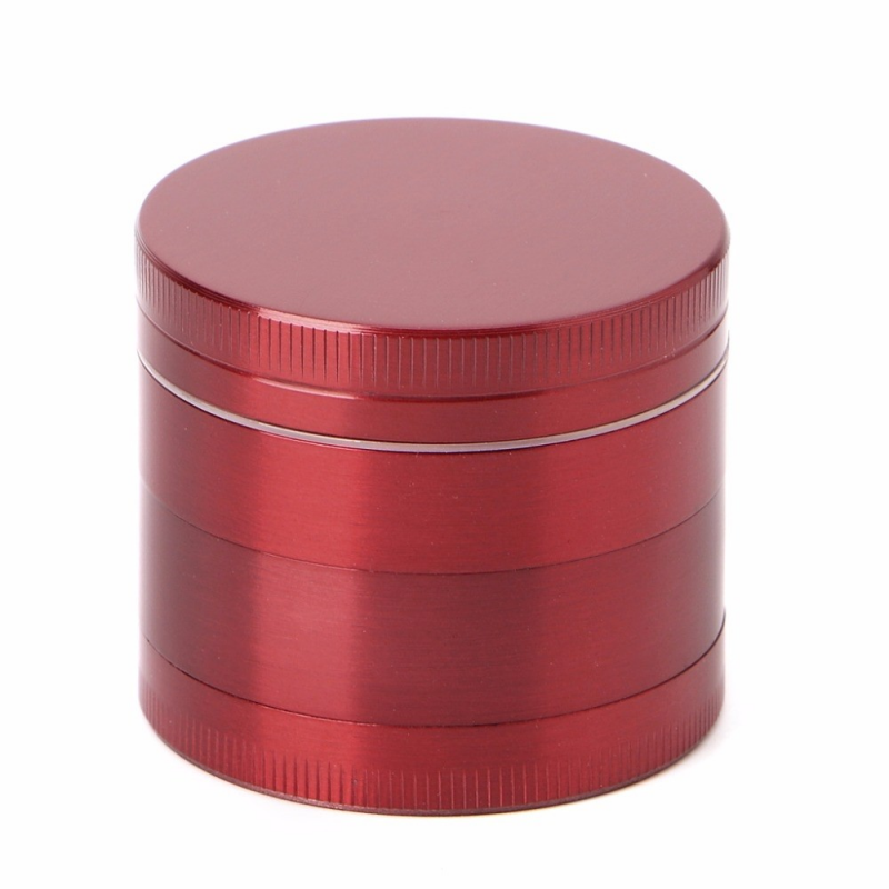 Grinder tutun metalic - 4 compartimente - Rosu zum665 Articole si accesorii tutun