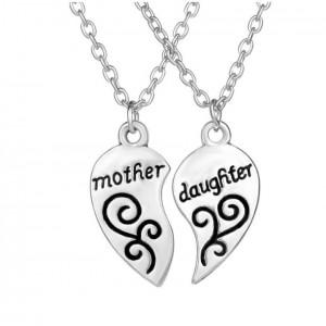 Set 2 Lantisoare Cu Pandantive - Best Friends Mother & Daughter (Mama & Fiica) med224 Best Friends Medalioane BFF