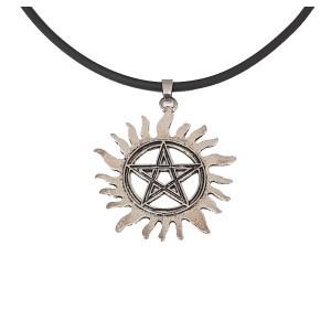 Pandantiv Medalion Lantisor Pentagrama Supernatural - Zumzeria 701 Fan Zone
