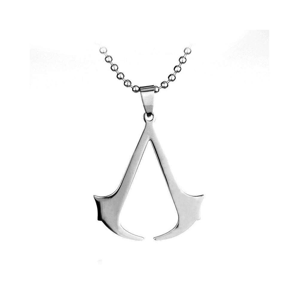 Lantisor Cu Pandantiv Assassin's Creed Inox med2002 Assassin's Creed Diverse Medalioane
