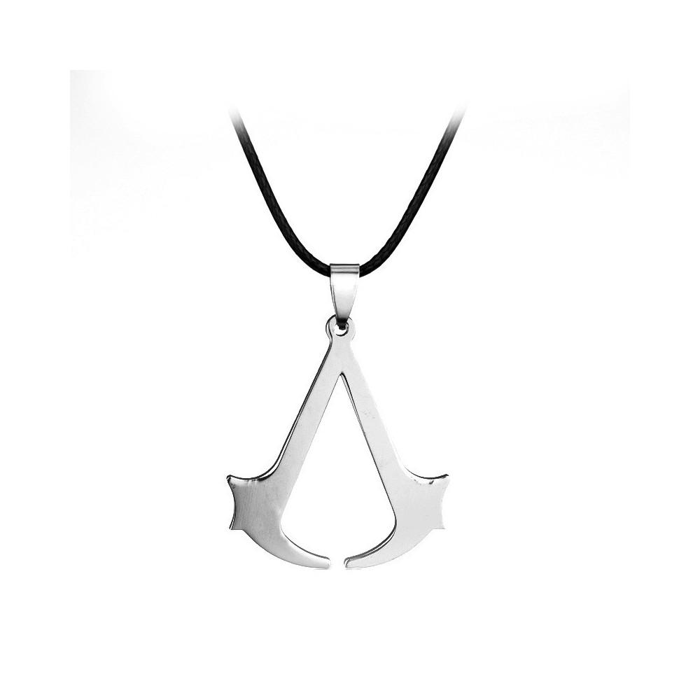 Lantisor Cu Pandantiv Assassin's Creed Inox v2 med2002 Assassin's Creed Diverse Medalioane