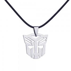 Pandantiv Medalion Lantisor Transformers Autobot , Inox Argintiu 2004 Medalioane