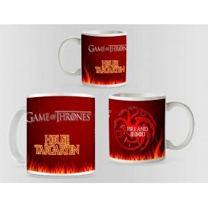 Cana Game of Thrones - House Targaryen mug3 Cani