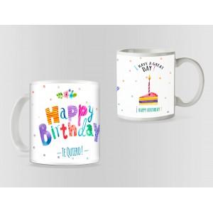 Cana Happy Birthday / La multi ani M1 mug10 Zumzeria Cani