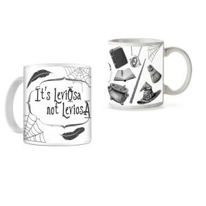 Cana Harry Potter - It's leviOsa, not levioSA mug15 Cani