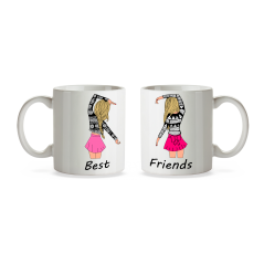 Set 2 cani Best Friends mug22 Cani