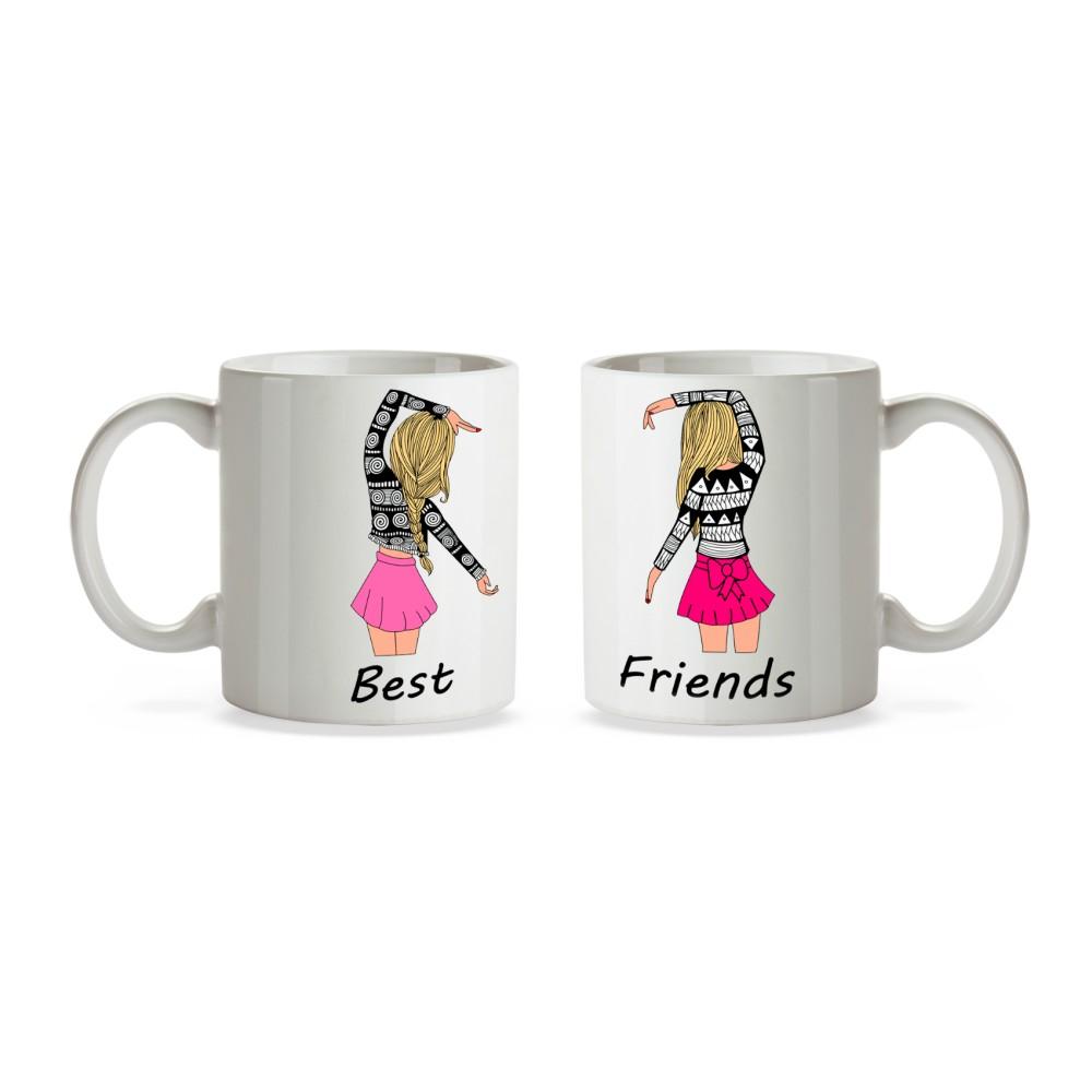 Set 2 cani Best Friends BFF mug22 Best Friends Cani