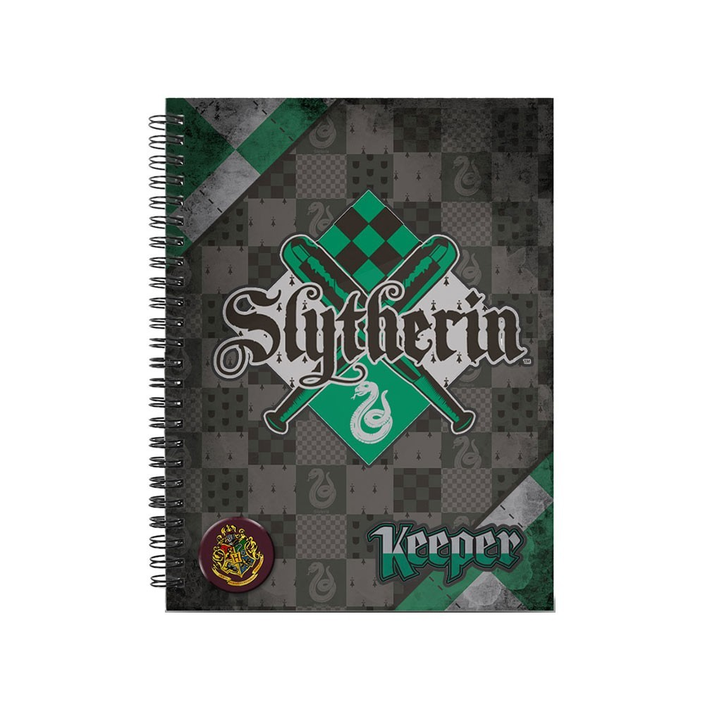 Caiet Harry Potter - Slytherin A4 Quidditch 38224 Harry potter Caiete