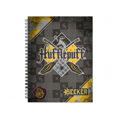 Caiet Harry Potter - Hufflepuff A4 Quidditch 38191 Harry potter Caiete