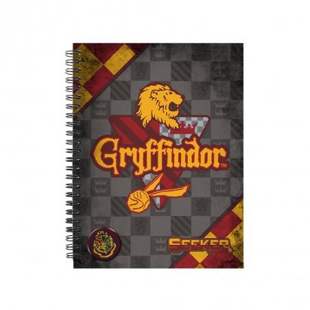 Caiet Harry Potter - Gryffindor A4 Quidditch 37880 Caiete