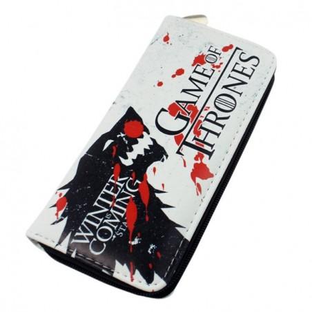 Portofel Game of Thrones Stark House Wolf Winter Is Coming 251 Portofele