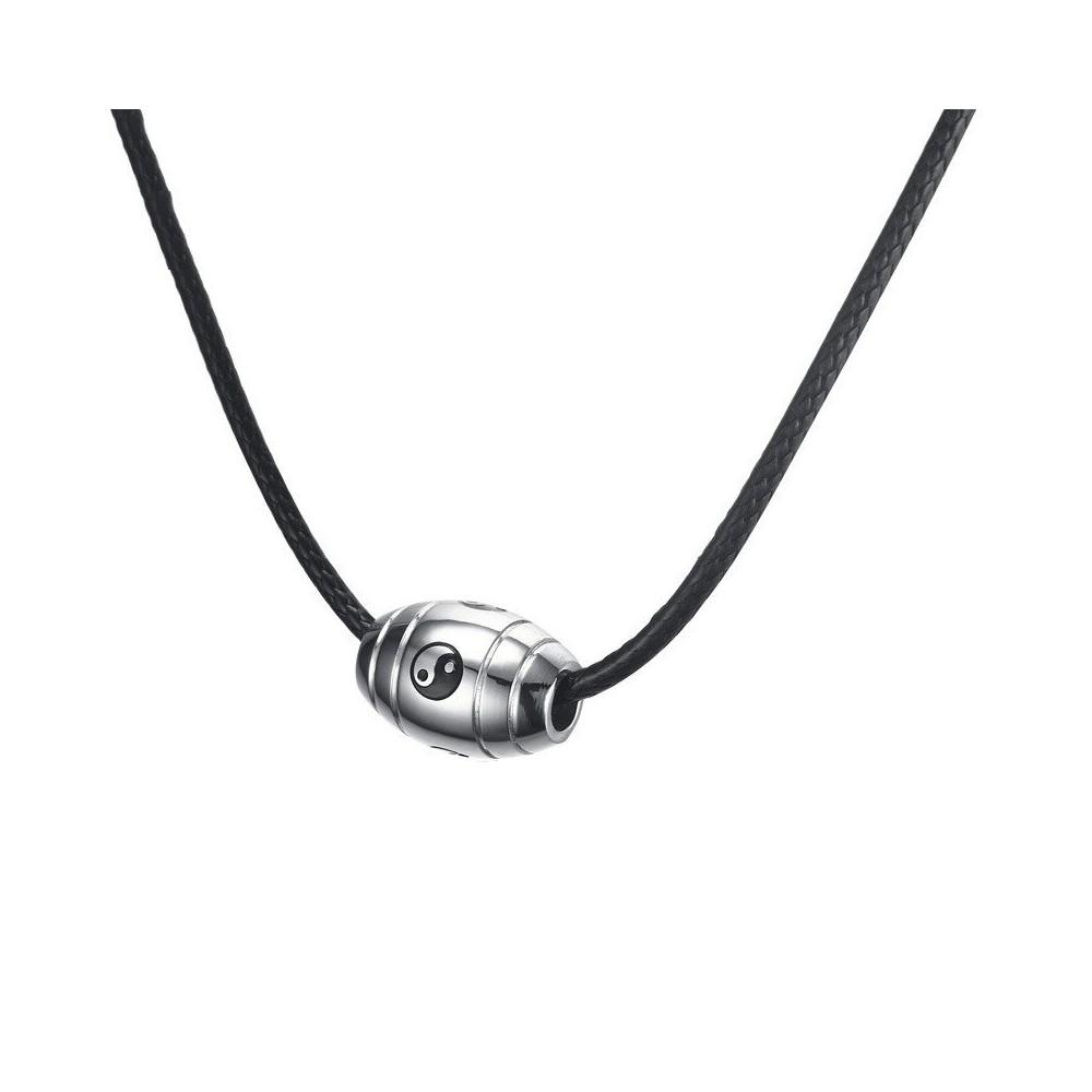 Lantisor Cu Pandantiv Yin Yang Inox , zuminox4 zuminox4 Yin Yang Medalioane Inox