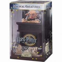 Figurina Harry Potter: Magical Creatures Gringotts Goblin No.10 NN7552 Figurine Harry Potter