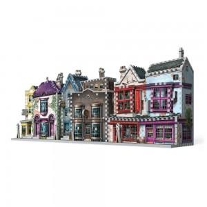 Puzzle 3D Harry Potter Madam Malkin's & Florean Fortescue's Ice Cream 290 Piese WP-W3D-0510  Puzzle