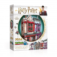 Puzzle 3D Harry Potter Quality Quidditch Supplies And Slug & Jiggers 305 Piese WP-W3D-0509 Harry potter Puzzle