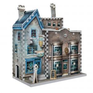 Puzzle 3D Harry Potter Ollivander's Wand Shop & Scribbulus 295 PIESE WP-W3D-0508  Puzzle