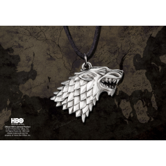 Medalion Colier Lup Game of Thrones - Stark House NNXT0085 Colectabile