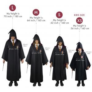Roba Harry Potter Gryffindor 116cm - Pentru Adulti , S 3760166560080 Harry Potter Robe Harry Potter