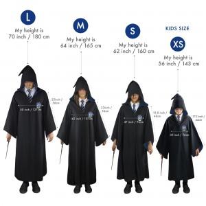 Roba Harry Potter Ravenclaw 110cm - Pentru copii , XS CR1203KIDS Harry Potter Robe Harry Potter