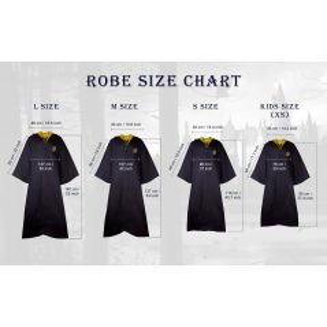 Roba Harry Potter Hufflepuff - Pentru copii , XS CR1204KIDS Roba Harry Potter