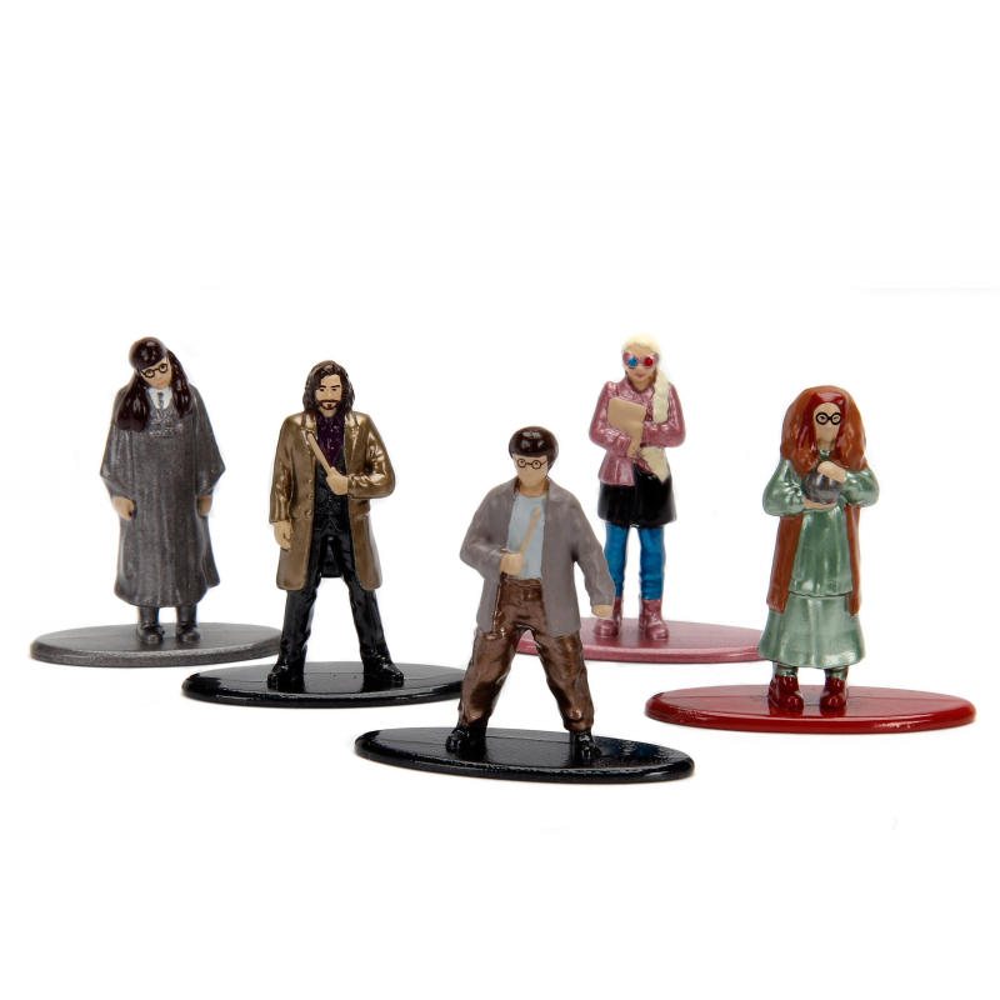 Set 5 Figurine Metalice Harry Potter M3 , Multicolor JADA99439 Harry potter Figurine
