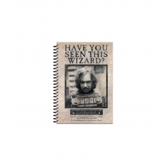 Agenda Harry Potter Wanted Sirius Black A5 SR72252 Harry potter Agende