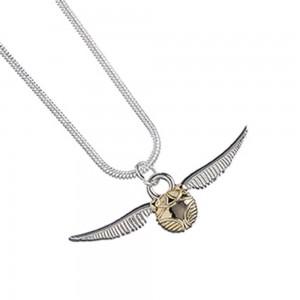Pandantiv Medalion Lantisor Colier Harry Potter Golden Snitch ZUMWN0004 Medalioane