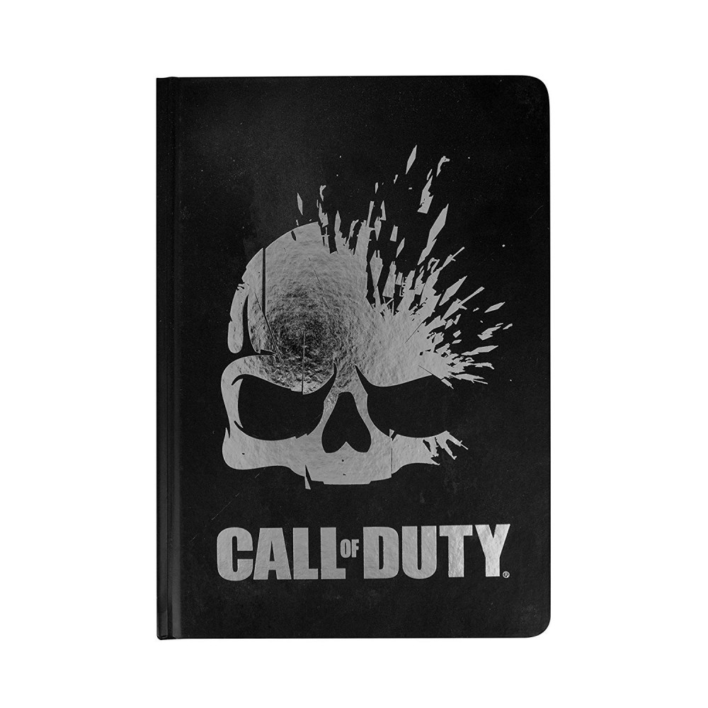 Agenda Call of Duty Skull A5 PP4075COD Call Of Duty Agende