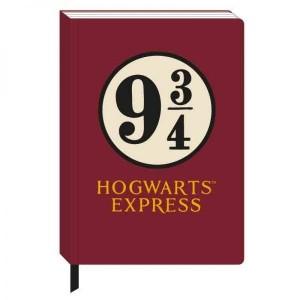 Agenda Harry Potter Hogwarts Express Platform 9 3/4 A5 HMB-NBA5HP09 Harry potter Agende