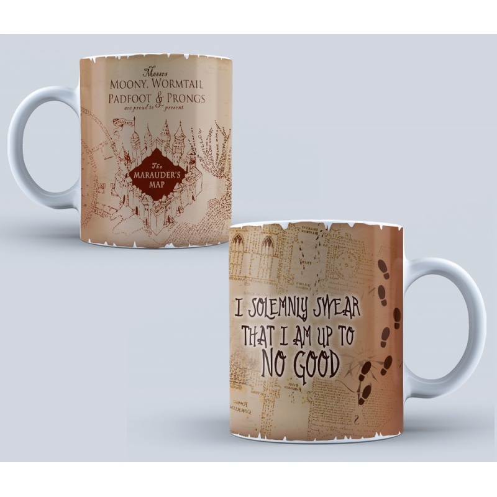 Cana Harry Potter Marauder's Map mug1 Cani