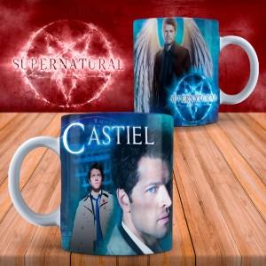 Cana Supernatural Castiel , 330ml mug43 Supernatural Cani