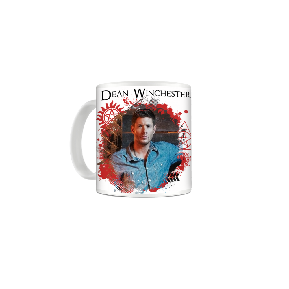 Cana Supernatural - Dean & Sam Winchester , 330ml mug48 Supernatural Cani