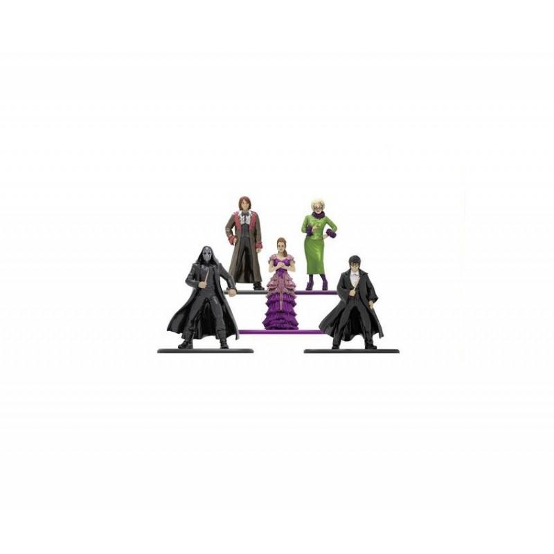 Set 5 Figurine Metalice Harry Potter M4 , Multicolor JADA253180003 Harry potter Figurine