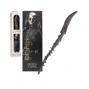 Bagheta Harry Potter - Death Eater 30cm Originala + Semn de carte NN6318 Harry potter Baghete Harry Potter