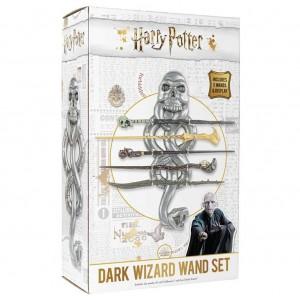 Set 5 baghete Harry Potter + Suport baghete Dark Wizard NN7351 Harry potter Baghete Harry Potter