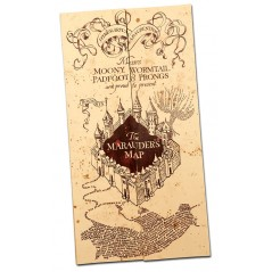 Harta Harry Potter - Marauder's Map 40 x 182 cm NN7888 Harry Potter Diverse