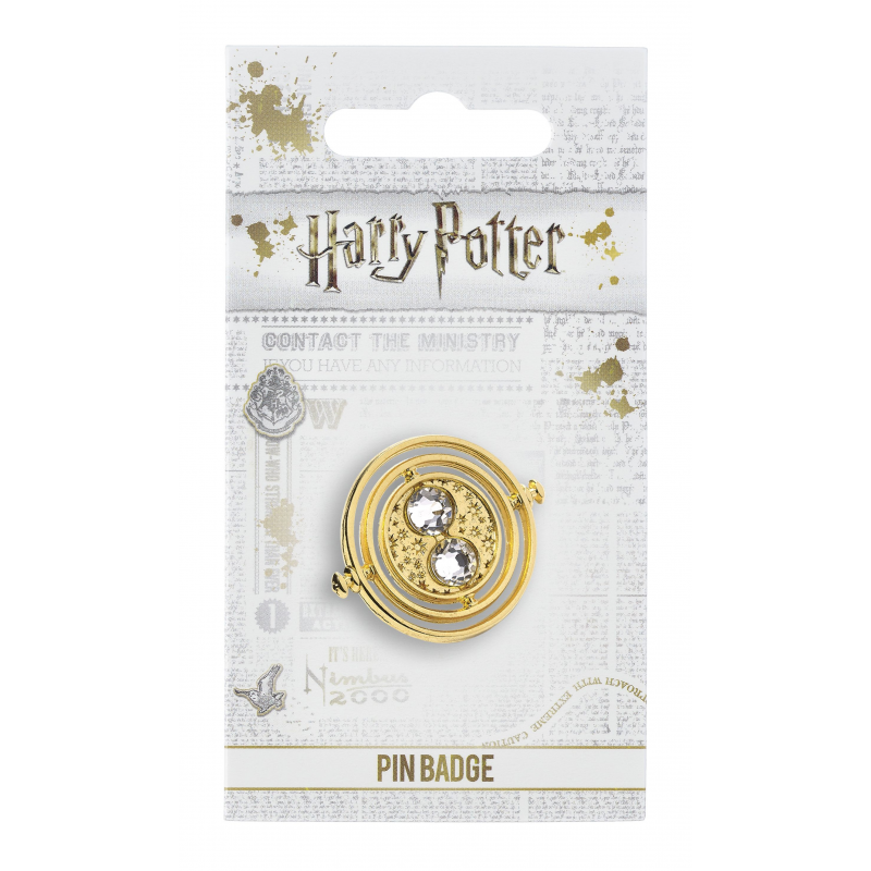 Insigna Harry Potter - Time Turner , 2.5cm CRTHPPB0100 Harry Potter Brose