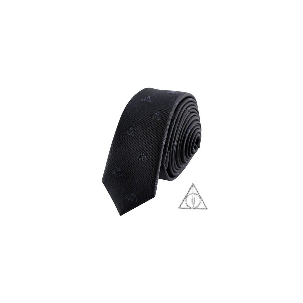 Cravata Harry Potter Deathly Hallows Deluxe Box CR1115
