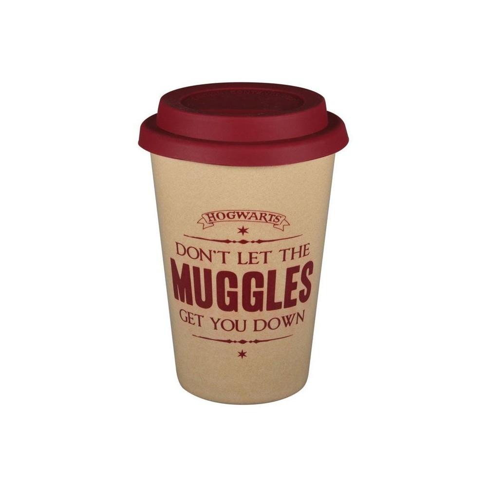 Pahar Harry Potter - Muggles , 350ml HMB-HUSKHP07 Harry potter Pahare
