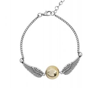 Bratara Harry Potter Golden Snitch , Argintie bra119 Harry Potter Bratari