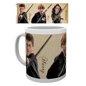 Cana Harry Potter - Harry , Ron , Hermione Wands , 330ml GYE-MG1875 Harry potter Cani